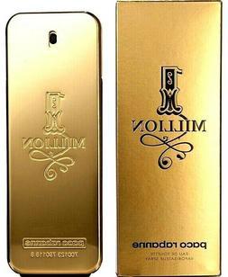 1 MILLION PACO RABANNE Cologne Perfume Men 6.7 3.4 .17 oz ED