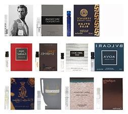 11 Men's Designer Cologne Sample Vials