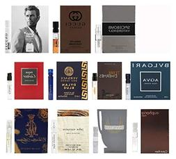 11 Men's Designer Fragrances Sample Vial