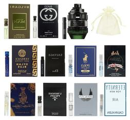 11 Men Cologne Sample Vial Spicebomb Night Vision Prada Vers