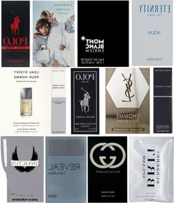 12 Mens Cologne Samples Gucci Burberry Cartier Paco Rabanne