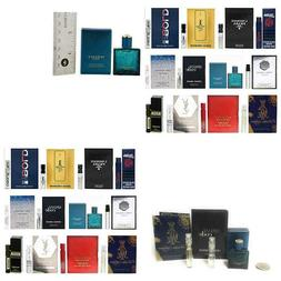 12 Men'S Cologne Samples Vials & Miniature Set Tom Ford, Yve