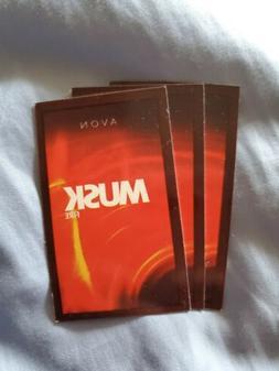 13 Avon Cologne Sample Pads for Men  etc.