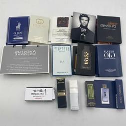14 Pc ~ Mens Cologne Samples Prada - Hugo Boss - 1 Million -