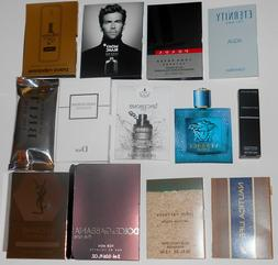 15 Mens Cologne Samples Lot Burberry Paco Rabanne Versace Di