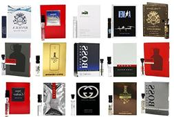 Men's Designer Fragrance Sample Pack: 15 Different Cologne V