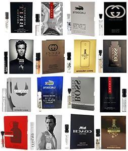 Men's Designer Fragrance Sample Pack: 16 Different Cologne V