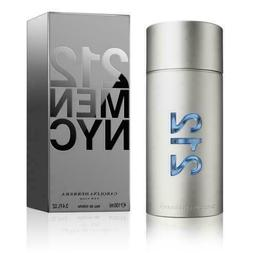212 Cologne by Carolina Herrera, 3.4 oz EDT Spray for Men NE
