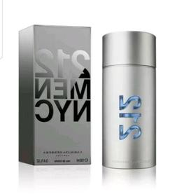 212 Cologne by Carolina Herrera, 3.4 oz EDT Spray for Men NE