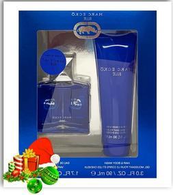 2pc Set Marc Ecko BLUE EDT Mens Cologne 1.7oz & Hair & Body