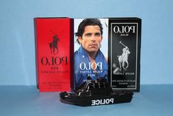 3 Men's Cologne Samples: Polo Black, Polo Blue & Polo Red by