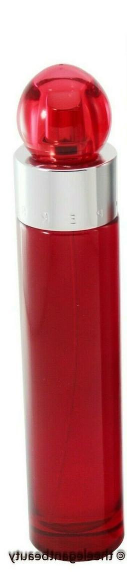 360 Red Tstr For Men 3.4oz Edt Spray New In Tstr Box By Perr