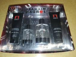 Michael Jordan 4 Piece Gift Set for Men Cologne Spray Body W