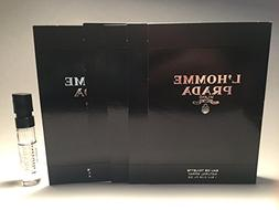 5 Prada L'Homme Eau de Toilette sample size good for travel