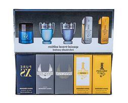Paco Rabanne 5pc Mini Gift Set Cologne for Men 1 Million + L
