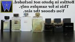 7 Lalique Men Cologne Decant Sample Lot Encre Noire White +