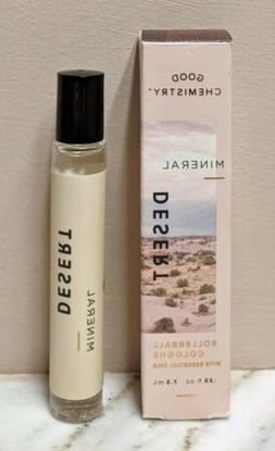 7 Mineral Desert GOOD CHEMISTRY Roll On Cologne EOs Patchoul