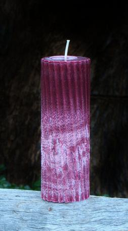 70hr OUD WOOD, AMBER & MUSK Scented SPIRAL ARTISAN CANDLE Me