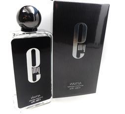 Afnan 9 Pm Black Cologne Eau de Parfum 3.4oz 100ml Black Van