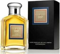 ARAMIS 900  3.4 Oz 100 ML Herbal Eau De Cologne Spray for Me