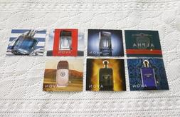 Avon Mens Cologne SAMPLES  Bestsellers Classics New Scents -