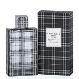 BURBERRY BRIT for Men Cologne edt 3.3 oz / 3.4 oz New in Box