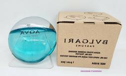 BVLGARI Aqua Marine Spray For Men Eau De Toilette EDT 3.4 Oz