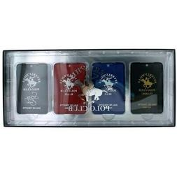Beverly Hills Polo Club Pocket Collection Cologne 4 Piece Se