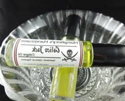 CALICO JACK Men's Natural Jojoba Cologne Oil, Ocean Roll On