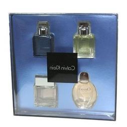 Calvin Klein 4pc Mini Gift Set Eternity Obsession Aqua Eupho