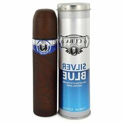 Cuba Cuba Silver Blue Eau De Toilette Spray 100ml/3.3oz