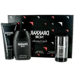 Drakkar Noir Cologne by Guy Laroche, 3 Piece Gift Set for Me