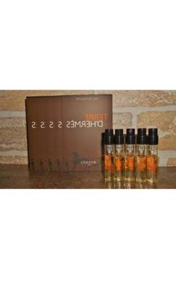 Hermes Terre D`Hermes Mens Cologne Sample Spray Vials Lot of
