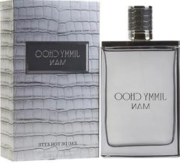 JIMMY CHOO MAN Cologne for men edt 3.4 / 3.3 oz NEW in BOX