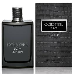 JIMMY CHOO MAN INTENSE Cologne for men edt 3.4 / 3.3 oz NEW