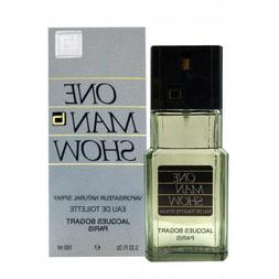 Jacques Bogart One Man Show Eau De Toilette Spray  for Men,