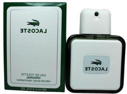 LACOSTE ORIGINAL cologne men edt 3.3 oz 3.4 NEW IN BOX
