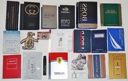 Mens Designer Cologne Samples Lot of 20 Gucci Calvin Klein H