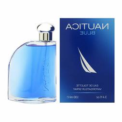 NAUTICA BLUE Cologne for Men 3.4 oz Eau de Toilette Spray, N