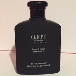 POLO DOUBLE BLACK by Ralph Lauren cologne men EDT 4.2 oz New