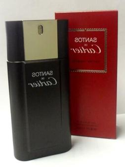 SANTOS de CARTIER Cologne for Men 3.3 oz / 3.4 oz Spray edt