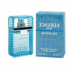 Versace Man Eau Fraiche 1.0 oz EDT spray mens cologne 30 ml