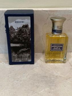 Abercrombie & Fitch WOODS Cologne Spray .65 fl oz for Men Vi
