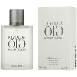 Acqua Di Gio 3.4 oz Eau De Toilette Cologne Spray For Men Gi