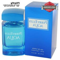 Perry Ellis Aqua Cologne 3.4 0.25 EDT Spray / Mini for MEN G