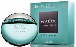 Bvlgari AQUA MARINE Cologne 3.4 oz for Men 3.3 oz New in Box
