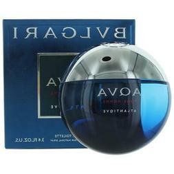 Aqva Atlantiqve by Bvlgari, 3.4 oz EDT Spray for Men