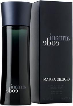 Giorgio Armani Armani Code 2.5 oz Men's Eau de Toilette *BRA