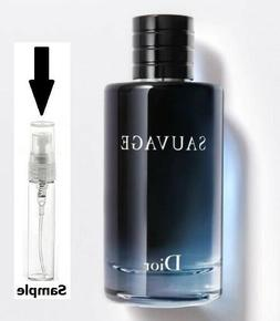 Authentic Sauvage for Men SAMPLE, EDT Cologne, 5ml Sample, T