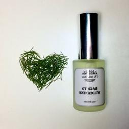 The Wild Rose Back to Wilderness natural vegan male perfume